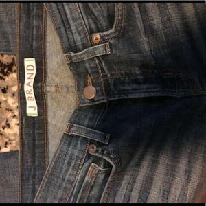 J Brand Skinny Leg Jeans. Songbird wash